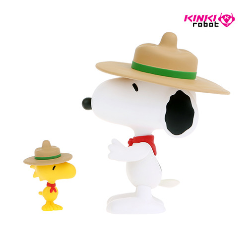 VCD SNOOPY & WOODSTOCK BEAGLE SCOUT