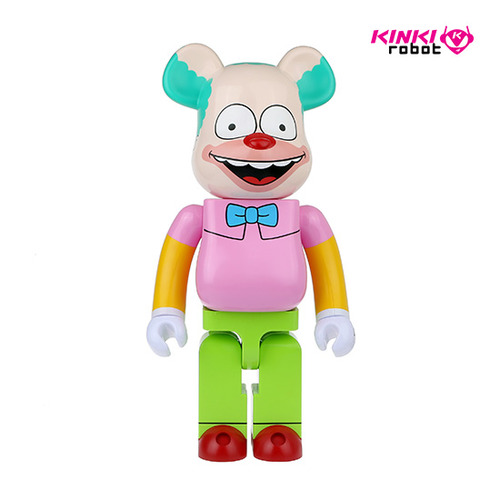 1000%BEARBRICK KRUSTY THE CLOWN