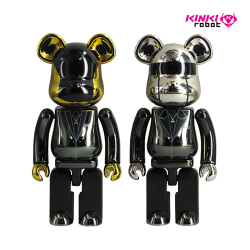 200%BEARBRICK DAFT PUNK SET (RAM VER)