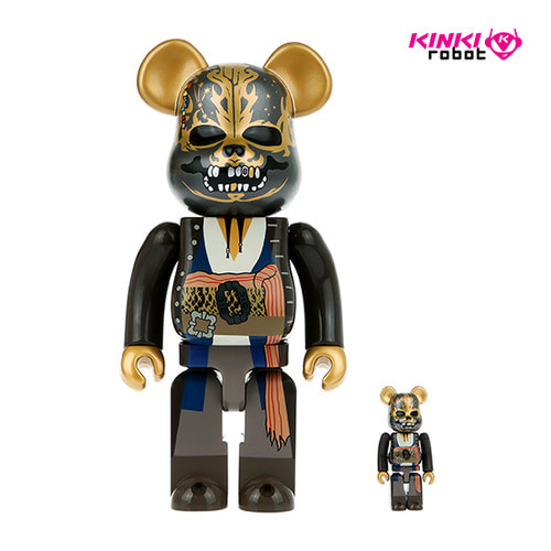 400%+100% BEARBRICK JACK SPARROW