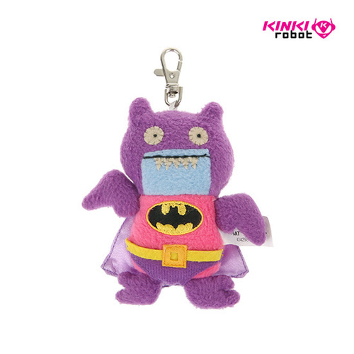 CLIP ON_DC BATMAN ICE BAT PINK PURPLE