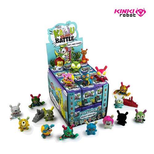 KAIJU DUNNY BATTLE SERIES (홀케이스)