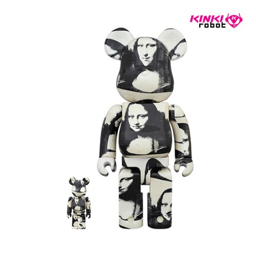 400%+100%, 1000%BEARBRICK ANDYWARHOL DOUBLE MONA LISA (프리오더)