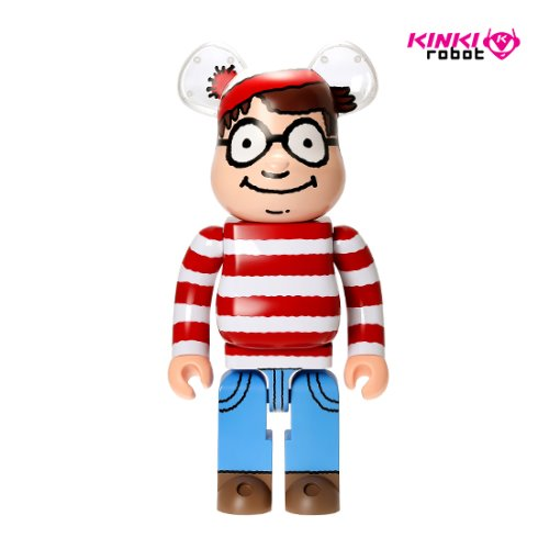 1000%BEARBRICK WALLY