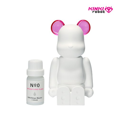 BEARBRICK AROMA ORNAMENT NO.0 COLOR PINK