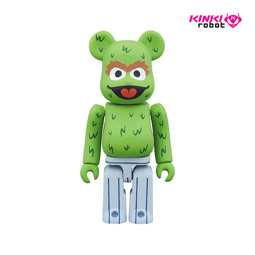 100%BEARBRICK OSCAR THE GROUCH