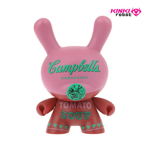 "8""DUNNY ANDY WARHOL MASTERPIECE CAMPBELLS"