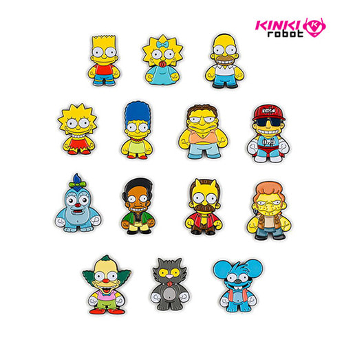 SIMPSONS ENAMEL PIN SERIES(단품)