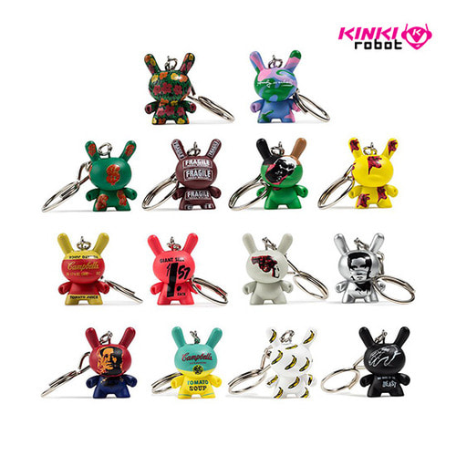 "ANDYWARHOL DUNNY KEYCHAIN SERIES 1.5""(단품)"