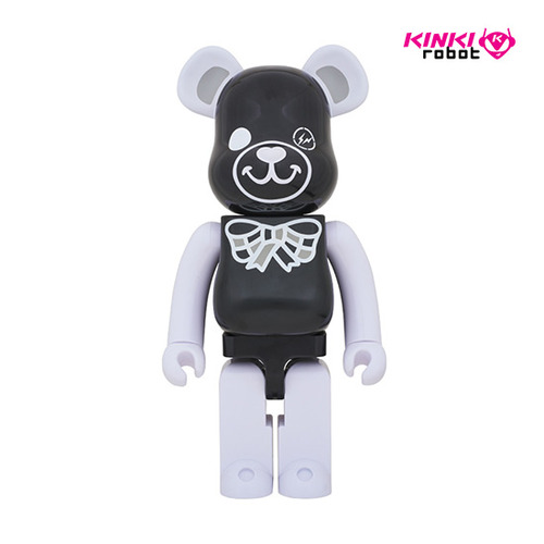 1000%BEARBRICK FREEMASONRY X FRAGMENTDESIGN BLACK