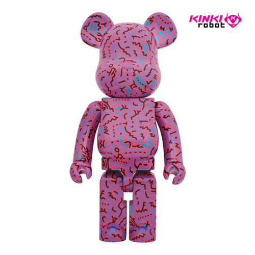 1000%BEARBRICK KEITH HARING #2