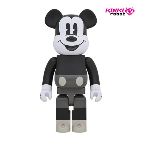 1000%BEARBRICK MICKEY MOUSE B&W