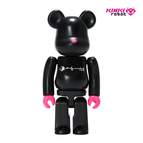 100%BEARBRICK ANDY WARHOL
