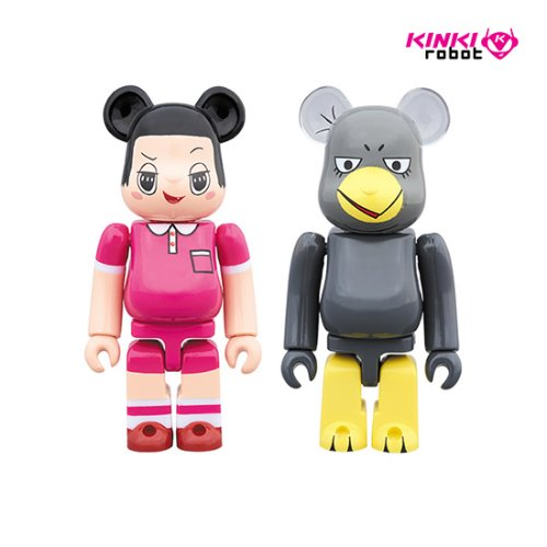 100%BEARBRICK CHICO CHAN & KYOE 2PACK (프리오더)