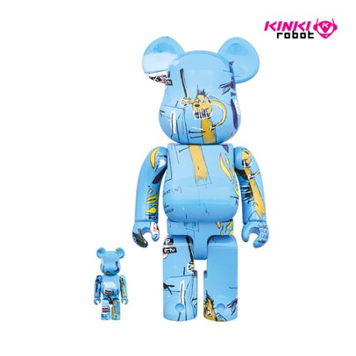 400%+100%, 1000%BEARBRICK JEAN MICHEL BASQUIAT #4 (프리오더)